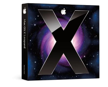 Boite Mac OS X 10.5 Leopard