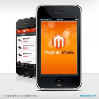 Magento Mobile sur iPhone