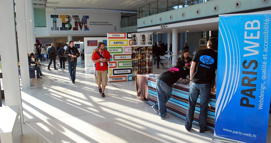 Paris Web 2011 au Forum IBM