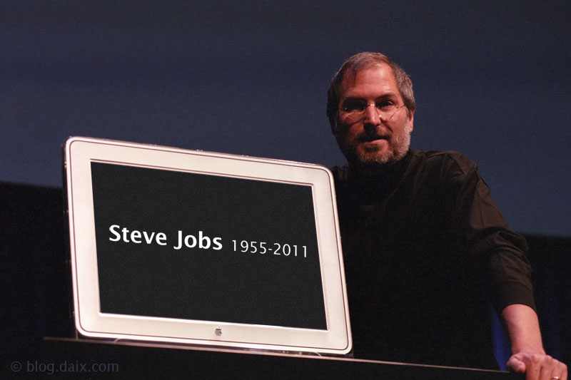 Photo de Steve Jobs prise à Paris en 1998 lors d'Apple Expo